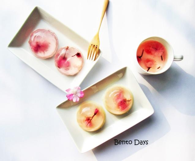 Sakura jelly