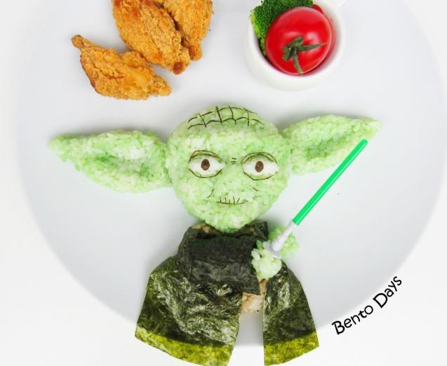 Yoda Star Wars bento