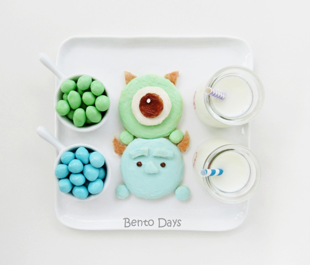 Monsters Inc Tsum Tsum Bento