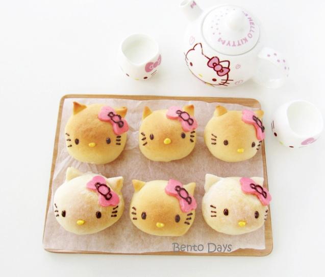 Hello Kitty bread buns