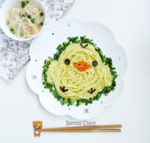 Kiiroitori noodles bento