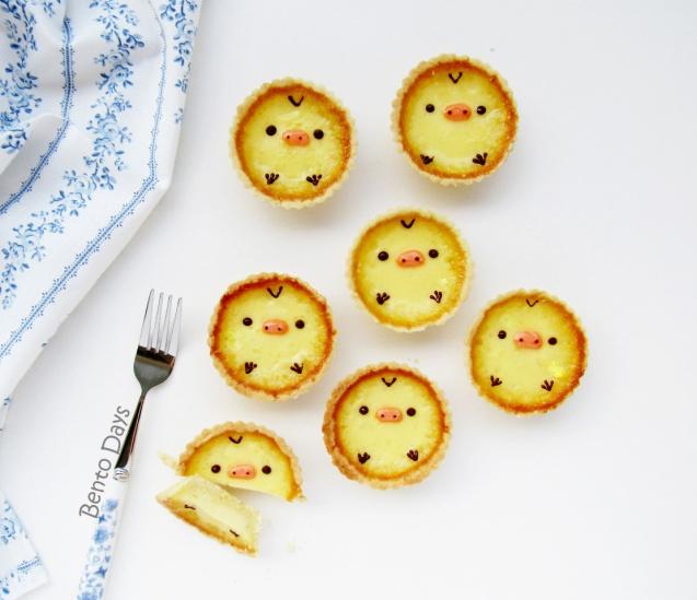 Kiiroitori Hong Kong style egg tarts recipe