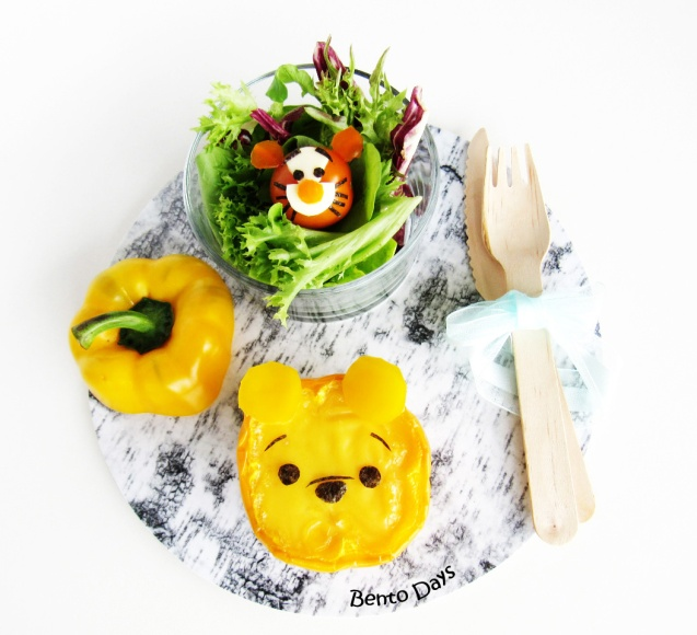 Pooh and Tigger lunch bento