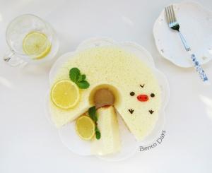 Kiiroitori Lemon Chiffon Cake Recipe