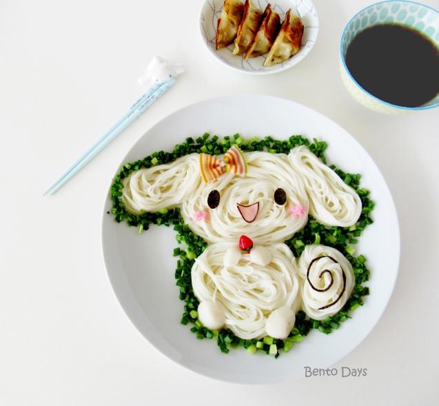 Cinnamoroll Somen Noodle Art