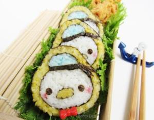 Donald Tsum Tsum kazarimaki sushi art