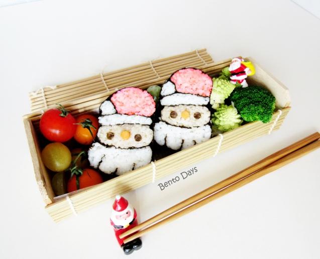 Santa Sushi bento