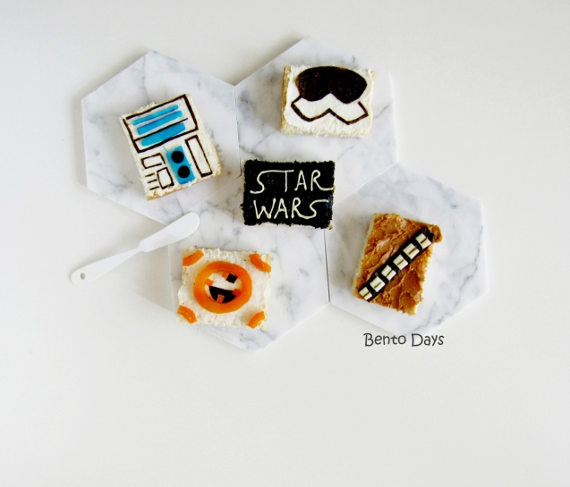 Star Wars sandwiches food art