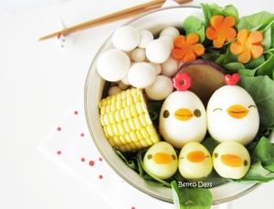 Hen and Chicks Hot Pot Dinner