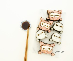 Baymax tsum tsum deco sushi