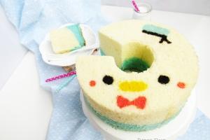 Donald Tsum Tsum deco chiffon cake