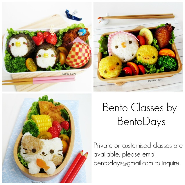 Bento Classes in Singapore