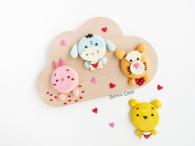 Tsum Tsum Valentines Day food art