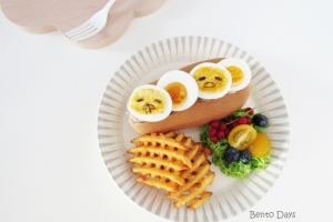 Gudetama Sando Gudetama sandwich