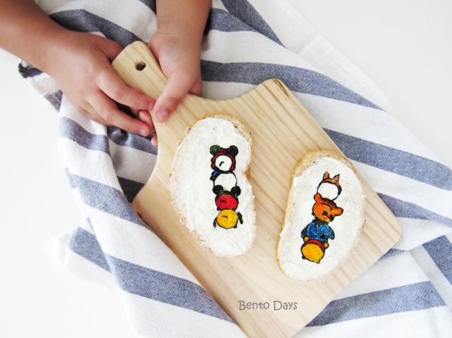 Tsum Tsum Sandwich Food Art